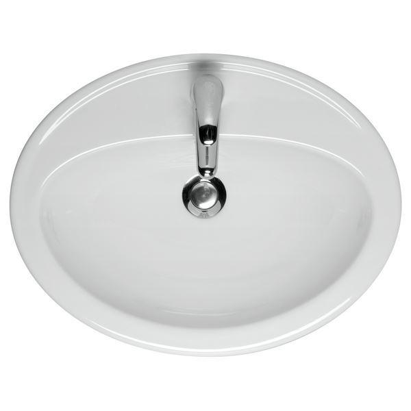 Forskellige Rund håndvask til nedfældning JF28