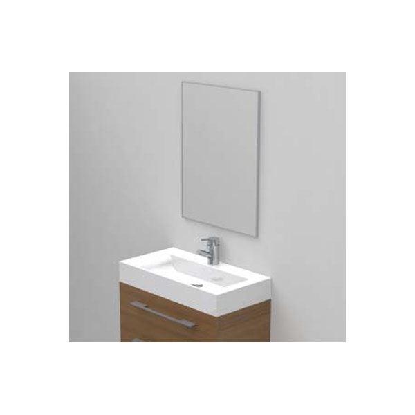 spejl til badeværelse Spejl til badeværelse 80 x 80 cm, tidløst og enkel. spejl til badeværelse