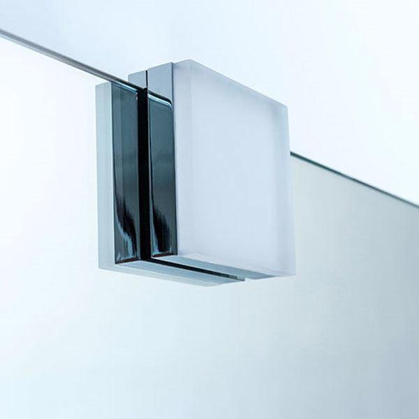 Kæmpestor LED spjellampe firkantet- Flot LED lampe til spejl SF24