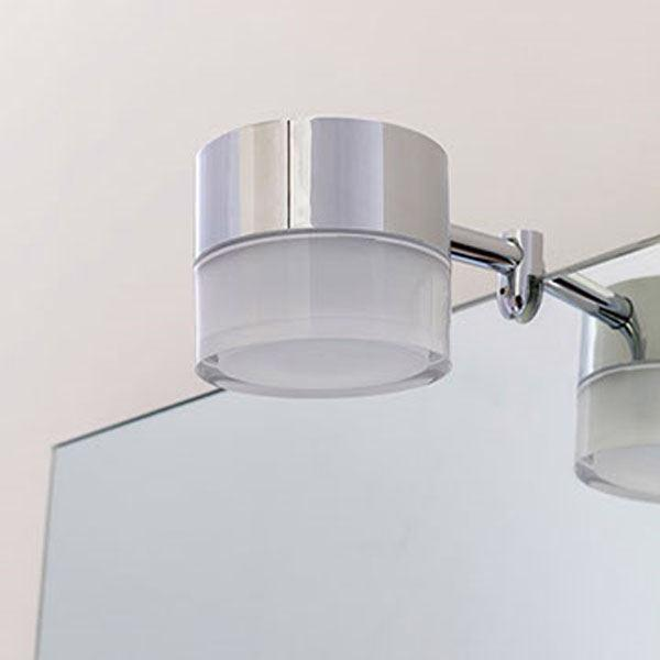 Udestående LED spejlampe - Flot LED lampe til spejl eller væg MM85