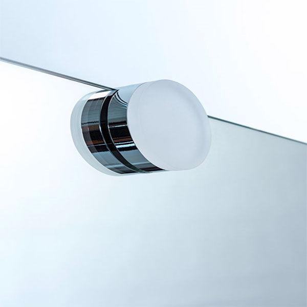 Storslåede LED spejllampe rund- Flot LED lampe til spejl NM39