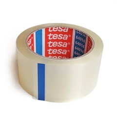 Emballagetape transparent 50m x 50mm