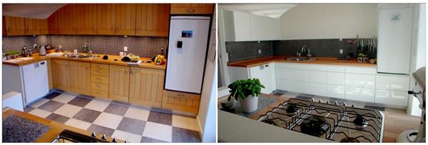 Forny dit køkken med nye fronter til dine skabe her. Vi hjælper dig!